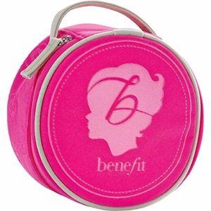 Benefit Cosmetics  Round Emblem Mini Makeup Bag